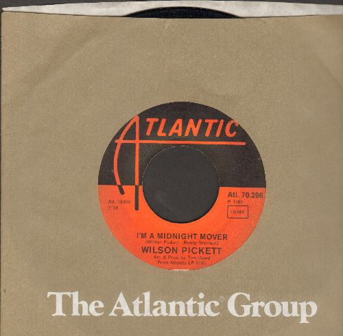 Pickett, Wilson - I'm A Midnight Mover/Deborah (German pressing with Atlantic company sleeve) - EX8/ - 45 rpm Records