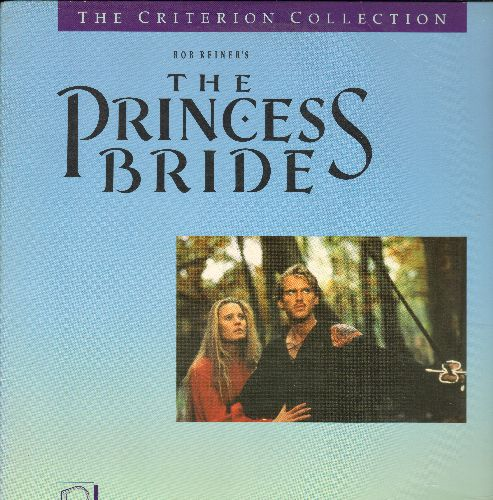 The Princess Bride - The Princess Bride Laser Disc Directed By Rob Reiner - NM9/EX8 - Laser Discs