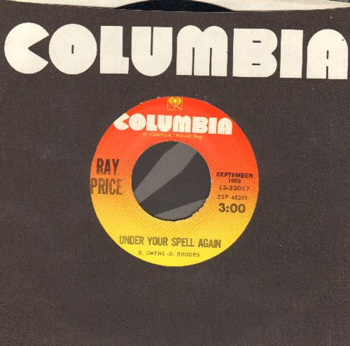 Price, Ray - Under Your Spell AgainCrazy Arms (double-hit re-issue) - EX8/ - 45 rpm Records