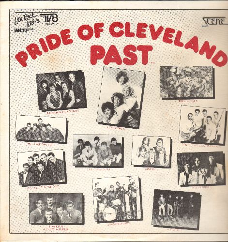 Outsiders, Secrets, Choir, others - Pride Of Cleveland Past: Time Won't Let Me, It's Cold Outside, The Boy Next Door, Debbie, High School U.S.A. (Cleveland) (vinyl LP record, re-issue of vintage recordings) - EX8/EX8 - LP Records