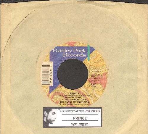 Prince - I Could Never Take The Place Of Your Man/Hot Thing (with juke box label and company sleeve) - EX8/ - 45 rpm Records