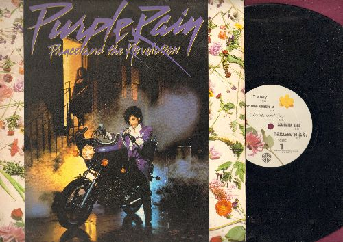 Prince - Purple Rain: Let's Go Crazy, When Doves Cry, I Would Die 4 U (vinyl LP record) - VG7/VG7 - LP Records