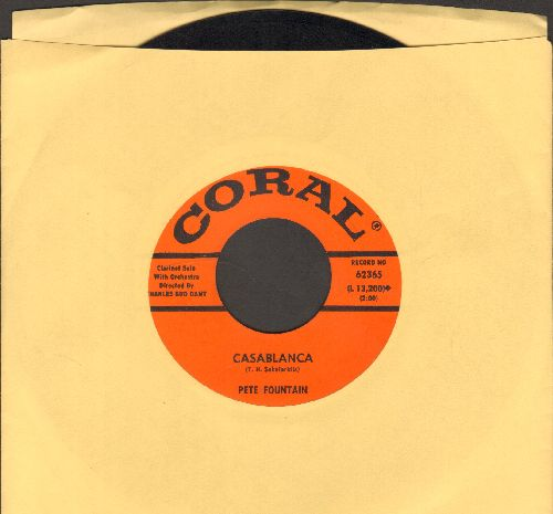 Fountain, Pete - Casablanca/Lost Love - EX8/ - 45 rpm Records