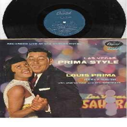 Prima, Louis & Keely Smith - Louis Prima Digs Keely Smith: Yeah! Yeah! Yeah!, Zooma Zooma Bacalla, Robin Hood, Teardrops From My Eyes, Goodbye Joe (Vinyl STEREO LP record) - EX8/VG7 - LP Records