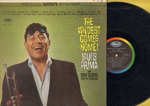 Prima, Louis - The Wildest Coes Home: Twist All Night, Glow-Worm, St. Louis Blues, Just One Of Those Things (vinyl STEREO LP record) - EX8/EX8 - LP Records