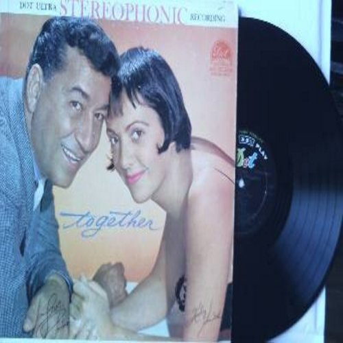 Prima, Louis & Keely Smith - Together: Paradise, Teach Me Tonight, Pussy Cat Song, I Can't Give You Anything But Love, Let's Call The Whole Thing Off, Mutual Admiration Society (Vinyl STEREO LP record) - NM9/EX8 - LP Records