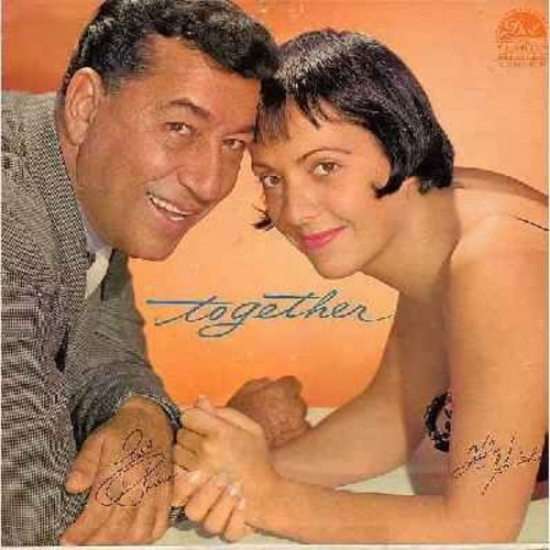 Prima, Louis & Keely Smith - Together: Paradise, Teach Me Tonight, Pussy Cat Song, I Can't Give You Anything But Love, Let's Call The Whole Thing Off, Mutual Admiration Society (Vinyl MONO LP record) - EX8/VG6 - LP Records