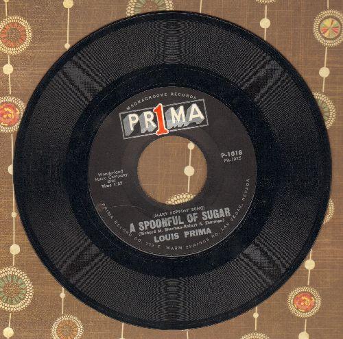 Prima, Louis - A Spoonful Of Sugar/Stay Awake - NM9/ - 45 rpm Records