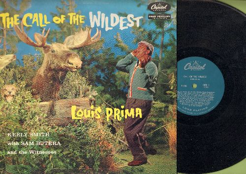 Prima, Louis - The Call Of The Wildest: Pennies From Heaven, Sentimental Journey, I've Got The World On A String (Vinyl MONO LP record, turquoise label first pressing) - EX8/EX8 - LP Records