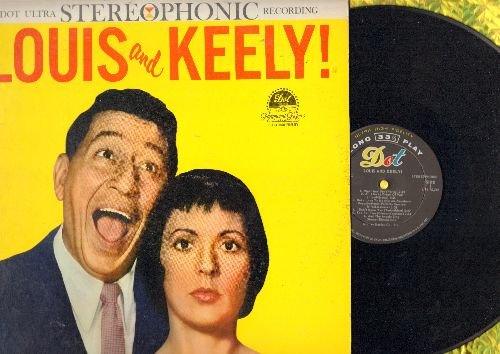 Prima, Louis & Keely Smith - Louis and Keely!: Night And Day, Tea For Two, Cheek To Cheek, Bei Mir Bist Du Schoen (Vinyl STEREO LP record, NICE condition!) - NM9/EX8 - LP Records
