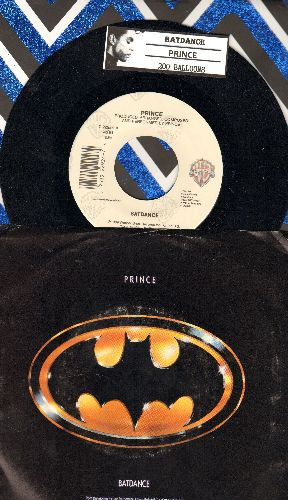 Prince - Batdance/200 Balloons (with picture sleeve and juke box label) - NM9/EX8 - 45 rpm Records