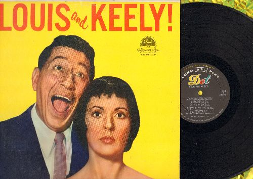 Prima, Louis & Keely Smith - Louis and Keely!: Night And Day, Tea For Two, Cheek To Cheek, Bei Mir Bist Du Schoen (Vinyl MONO LP record, NICE condition!) - NM9/EX8 - LP Records