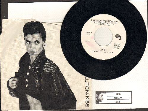 Prince - Kiss/Heart  *Or $ (with juke box label and picture sleeve) - NM9/G5 - 45 rpm Records