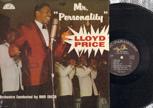 Price, Lloyd - Mr. Personality: Is It Really Love?, All Of Me, I Only Have Eyes For You, Yakety-Yak, Personality, I Want You To Know (Vinyl LP record) - EX8/EX8 - LP Records