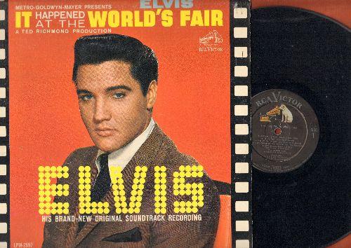 Presley, Elvis - It Happened At The World's Fair - Original Soundtrack Recording (vinyl MONO LP record) - VG7/VG7 - LP Records