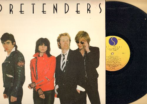 Pretenders - Pretenders: Precious, Tattooed Love Boys, Private Life, Brass In Pocket (vinyl LP record) - EX8/EX8 - LP Records