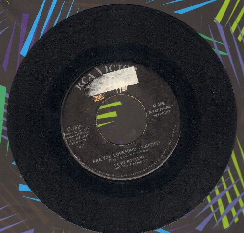 Presley, Elvis - Are You Lonesome To-Night?/I Gotta Know - VG7/ - 45 rpm Records