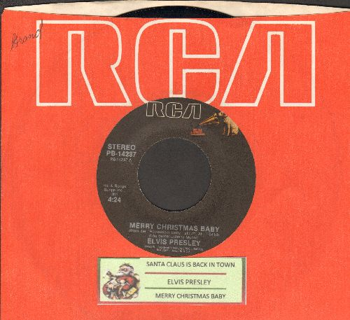 Presley, Elvis - If Every Day Was Like Christmas/How Would You Like To Be (re-issue with juke box label and RCA company sleeve) - NM9/ - 45 rpm Records