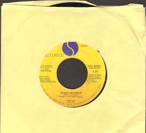 Pretenders - Brass In Pocket (I'm Special)/Space Invader - VG6/ - 45 rpm Records