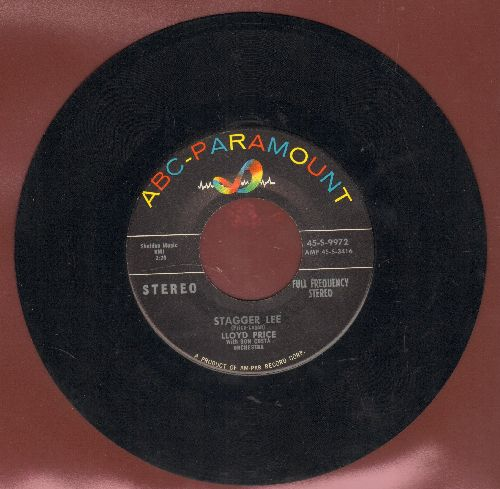 Price, Lloyd - Stagger Lee/You Need Love (RARE STEREO Pressing) - EX8/ - 45 rpm Records