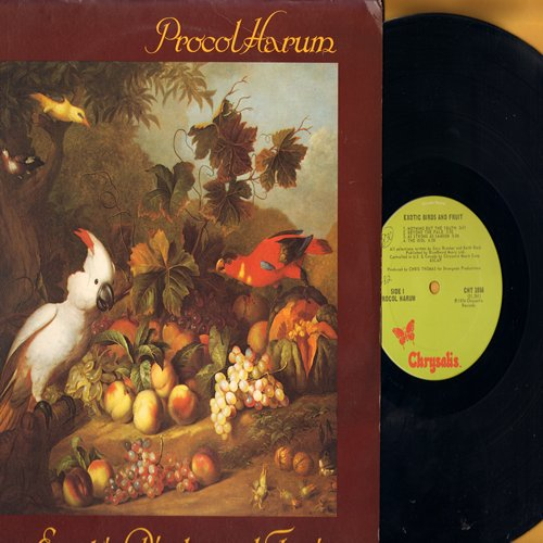 Procol Harum - Exotic Birds and Fruit: Beyond The Pale, The Idol, New Lamp For Old, Fresh Fruit, Butterfly Boys (Vinyl LP record) - NM9/VG7 - LP Records