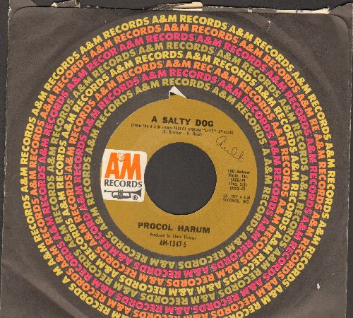 Procol Harum - A Salty Dog/Conquistador - EX8/ - 45 rpm Records