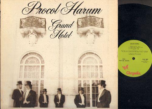 Procol Harum - Grand Hotel: Toujour L'Amour, T.V. Ceasar, A Souvenir Of London, Robert's Box (Vinyl LP record, gate-fold cover with BONUS book) - M10/EX8 - LP Records