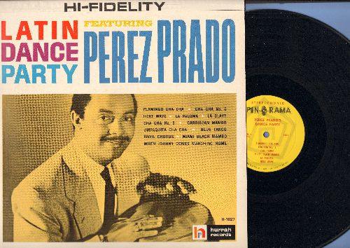 Prado, Perez - Latin Dance Party: Cha Cha No. 5, Blue Tango, Miami Beach Mambo, Cha Cha No. 8, Heat Wave, Flamingo Cha Cha (Vinyl MONO LP record) - NM9/NM9 - LP Records
