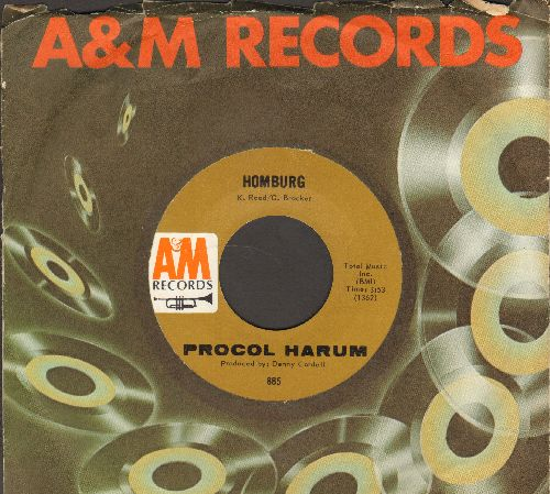 Procol Harum - Homburg/Good Captain Clack (with A&M company sleeve) - NM9/ - 45 rpm Records