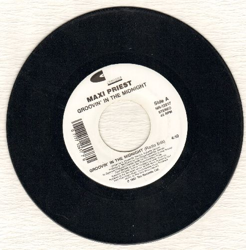 Priest, Maxi - Groovin' In The Midnight/Dreaming  - M10/ - 45 rpm Records