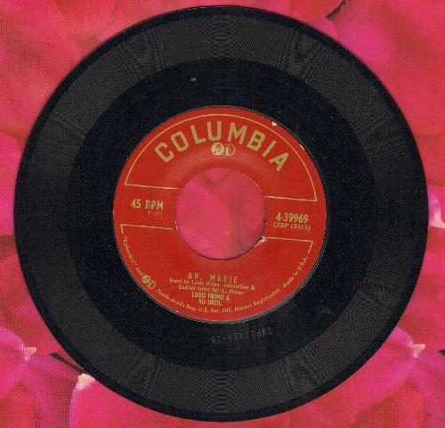 Prima, Louis & His Orchestra - Luigi/Oh, Marie (1953 first pressing) (minor wol) - EX8/ - 45 rpm Records