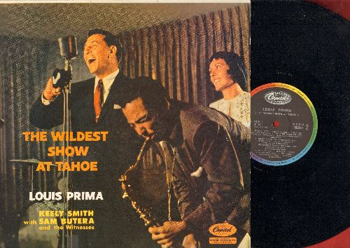 Prima, Louis & Keely Smith - The Wildest Show At Tahoe: On The Sunny Side Of The Street, How High The Moon, I'm In The Mood For Love (Vinyl MONO LP record, FRENCH Pressing) - EX8/NM9 - LP Records