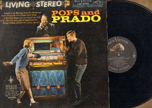 Prado, Perez - Pops And Prado: If You Knew Susie (Like I Know Susie), Yes Sir That's My Baby, Paper Doll, Ciribiribin (Vinyl STEREO LP record) - EX8/VG6 - LP Records