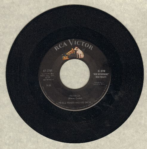 Prado, Perez & His Orchestra - Patricia/Why Wait (sol) - EX8/ - 45 rpm Records