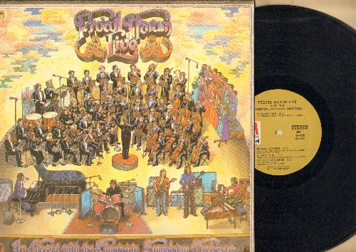 Procol Harum - Procol Harum Live With The Edmonton Symphony Orchestra: Conquistador, A Salty Dog, Glimpses Of Nirvana (vinyl STEREO LP record) - VG7/EX8 - LP Records