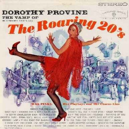 Provine, Dorothy - The Vamp Of The Roaring 20s: The Best of the Roaring 20's Flapper Songs in 7 Medleys. (Vinyl STEREO LP record) - M10/EX8 - LP Records
