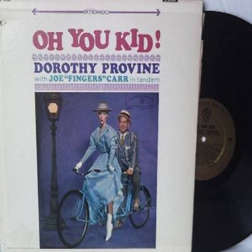 Provine, Dorothy - Oh You Kid! - A Delicious Compendium Of 24 Nice & Naughty Songs From The Gay Nineties (Vinyl STEREO LP record) - M10/EX8 - LP Records