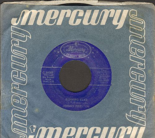 Preston, Johnny - Cradle Of Love/Running Bear (re-issue with Mercury company sleeve) - EX8/ - 45 rpm Records