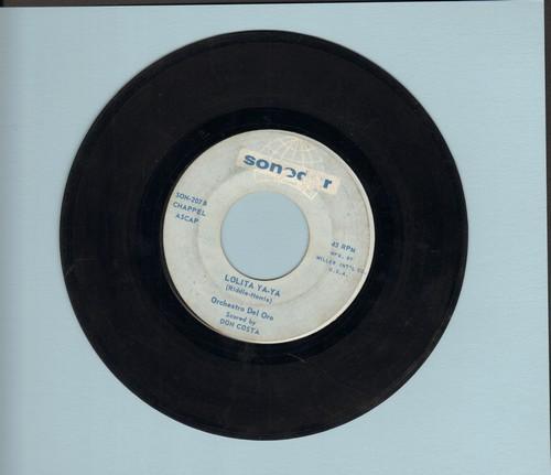 Orchestra Del Oro - Lolita Ya-Ya/Theme From Lolita - VG7/ - 45 rpm Records