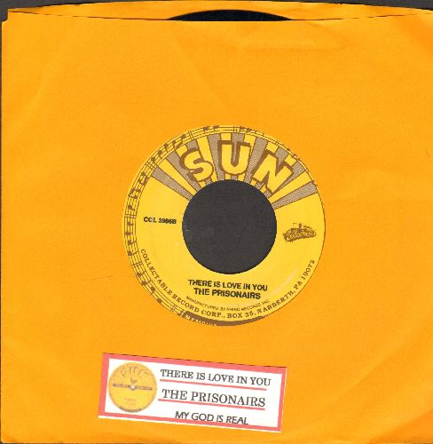 Prisonairs - There Is Love In You/My God Is real (authentic-looking re-issue of RARE Vintage Blues recordings with juke box label) - NM9/ - 45 rpm Records