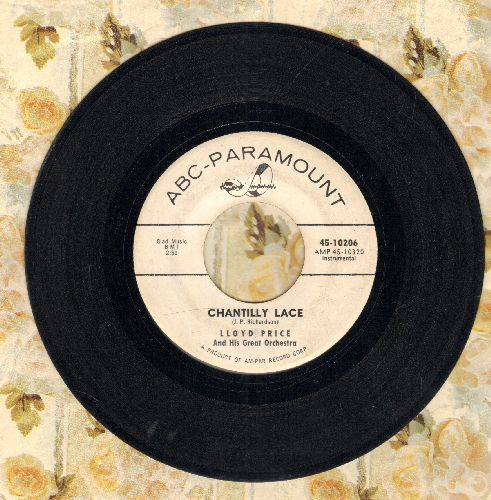 Price, Lloyd - Chantilly Lace/String Of Pearls (DJ advance pressing) - VG7/ - 45 rpm Records