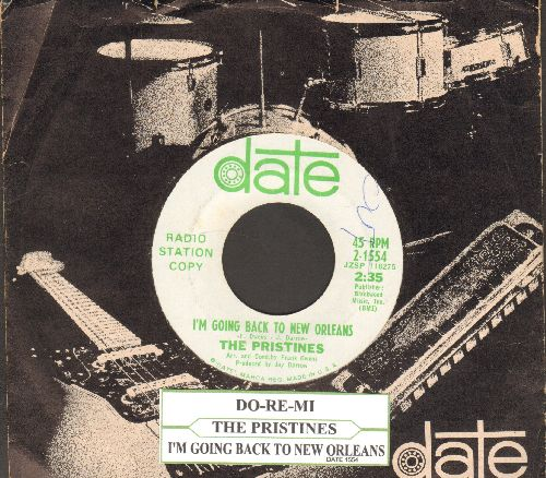 Pristines - I'm Going Back To New Orleans (RARE DJ advance pressing with vintage Date company sleeve and juke box label) - EX8/ - 45 rpm Records