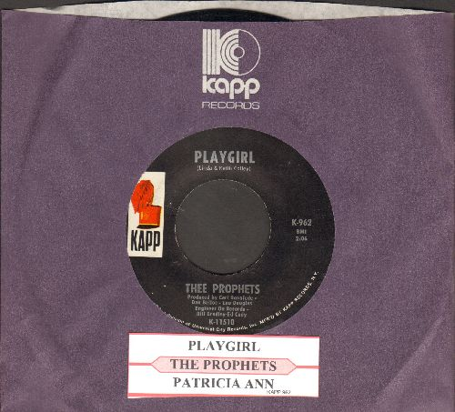 Prophets - Playgirl/Patricia Ann (with juke box label and Kapp company sleeve) - EX8/ - 45 rpm Records