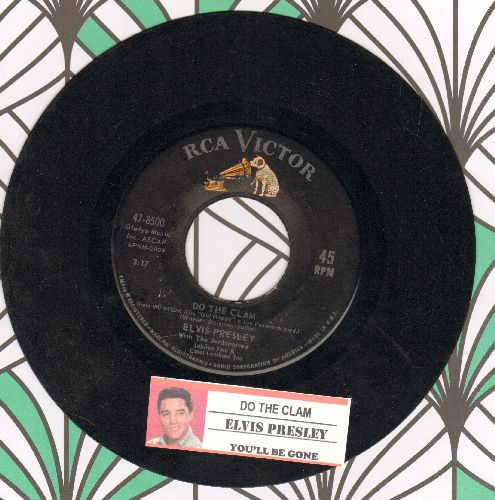 Presley, Elvis - Do The Clam/You'll Be Gone (with juke box label) - EX8/ - 45 rpm Records