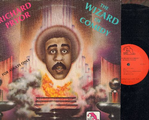 Pryor, Richard - The Wizard Of Comedy (stand-up comedy for mature audiences, vinyl STEREO LP record) - EX8/EX8 - LP Records