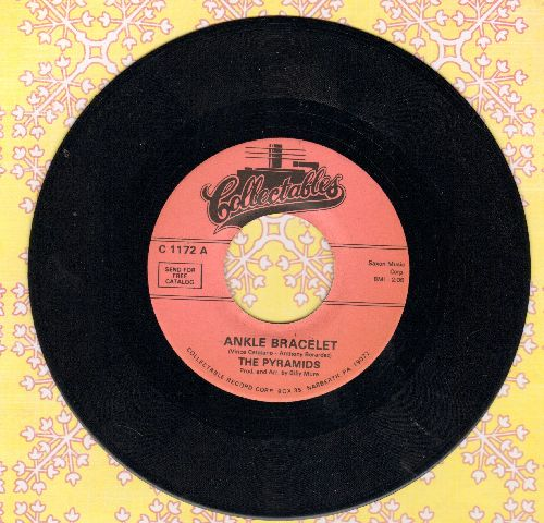 Pyramids - Hot Dog Dooly Wah/Ankle Bracelet (re-issue of RARE vintage Doo-Wop recordings) - M10/ - 45 rpm Records
