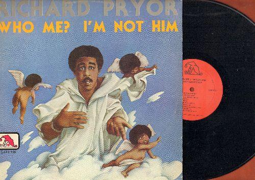Pryor, Richard - Who Me? I'm Not Him - The Origibal 1977 Comedy Album (vinyl LP record) - EX8/EX8 - LP Records