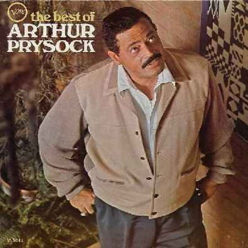 Prysock, Arthur - Best Of Arthur Prysock: Blue Velvet, Where Or When, Unchained Melody, When I fall In Love, The More I See You(Vinyl MONO LP record, NICE Condition!) - NM9/NM9 - LP Records