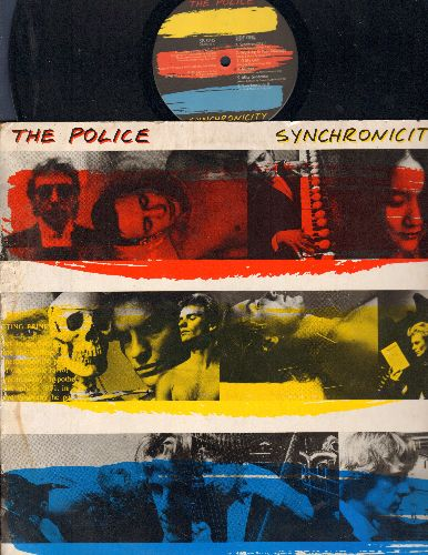 Police - Synchronicity: Every Breath You Take, King Of Pain, Tea In The Sahara (vinyl STEREO LP record) - EX8/VG7 - LP Records