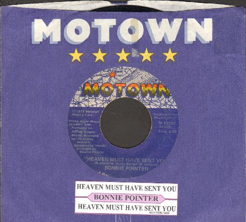 Pointer, Bonnie - Heaven Must Have Sent You (2 different versions) (with juke box label and Motown company sleeve) - EX8/ - 45 rpm Records
